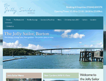 Tablet Preview of jollysailorburton.co.uk